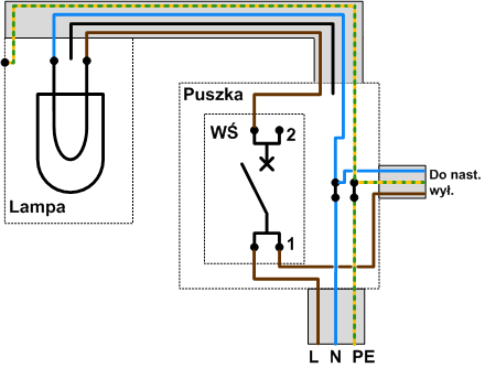 Jak Podpiąć Wyłącznik światła Pojedynczy Elektrykadlakażdegopl