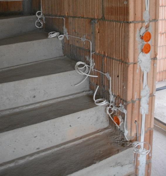 Planujemy Elektrykę Cz5 Schody Sypialnia Garderoba